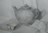 Чаепитие /карандаш/ Кучма Антонина
