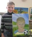 Автопортрет /масло/ Житенев Даниил 9 лет