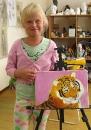Тигр /масло/ Ангелина 9 лет