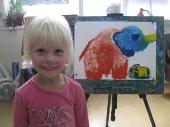 Работы  детей  3 -5 лет