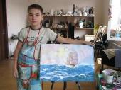 Работы  детей  8 -13 лет
